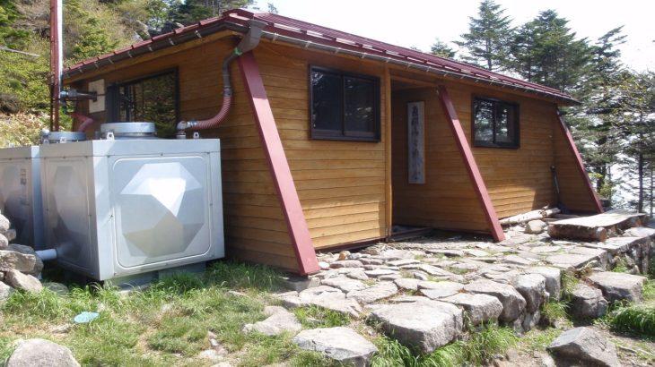 恵那山山頂小屋