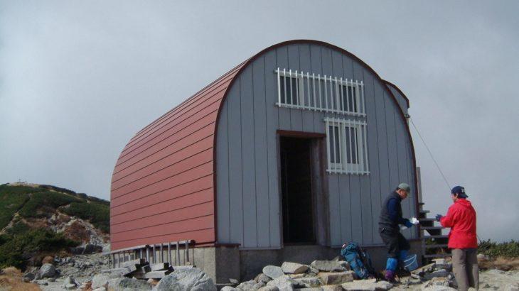 檜尾避難小屋