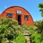 二王子岳山頂避難小屋