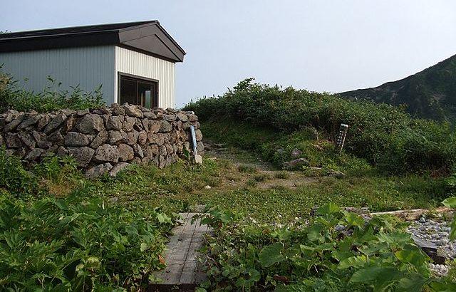 施薬小屋(装束場)