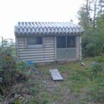 餓鬼山避難小屋