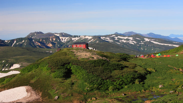 白雲岳避難小屋