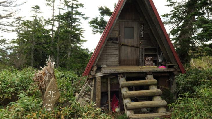 北ノ俣避難小屋